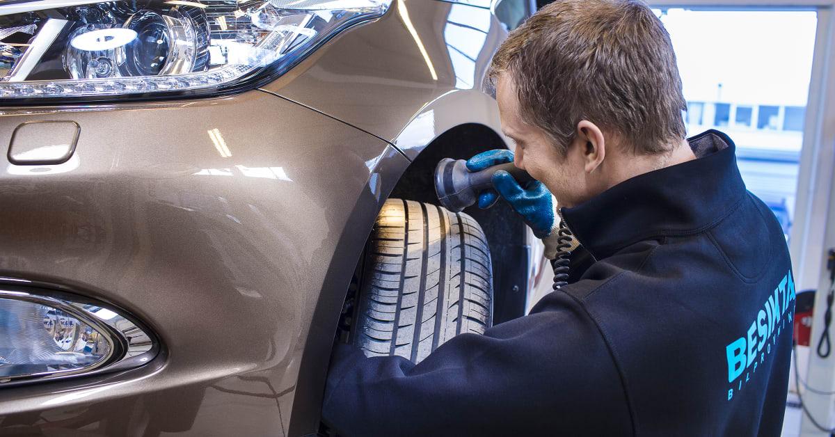 besikta bilprovning