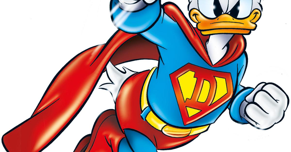 Afbeeldingsresultaat voor donald duck superheld