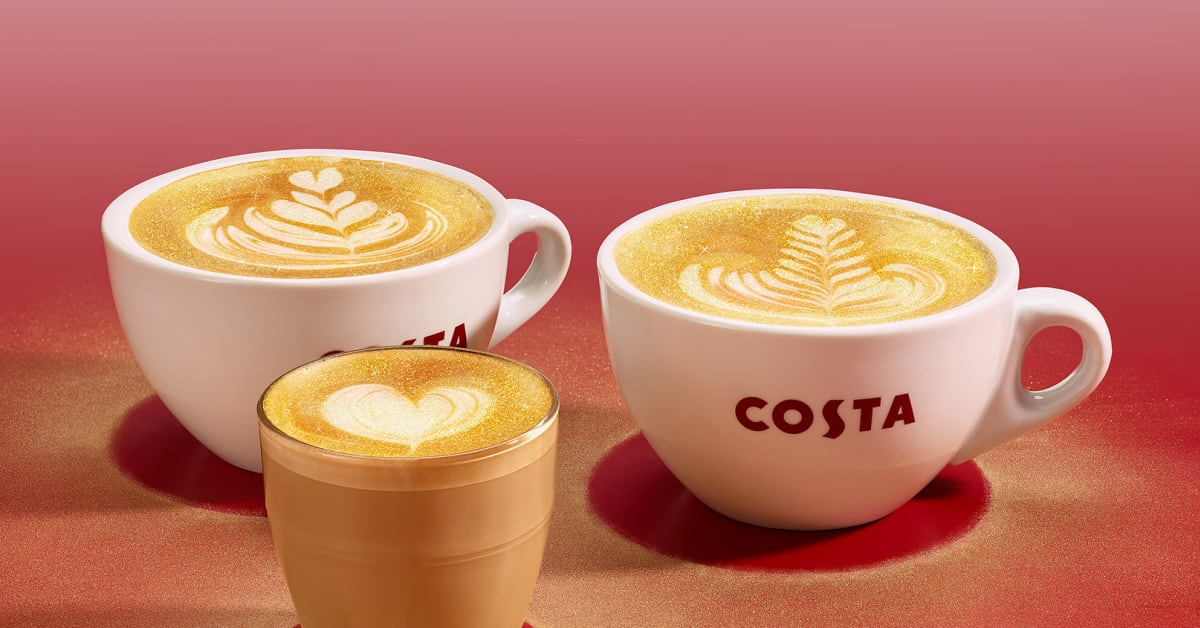Costa Coffee Grants Christmas Wishes With Festive Drinks