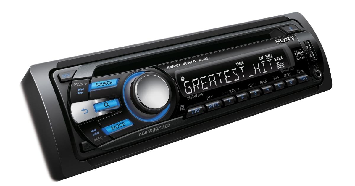 Sony car radio with bluetooth 8