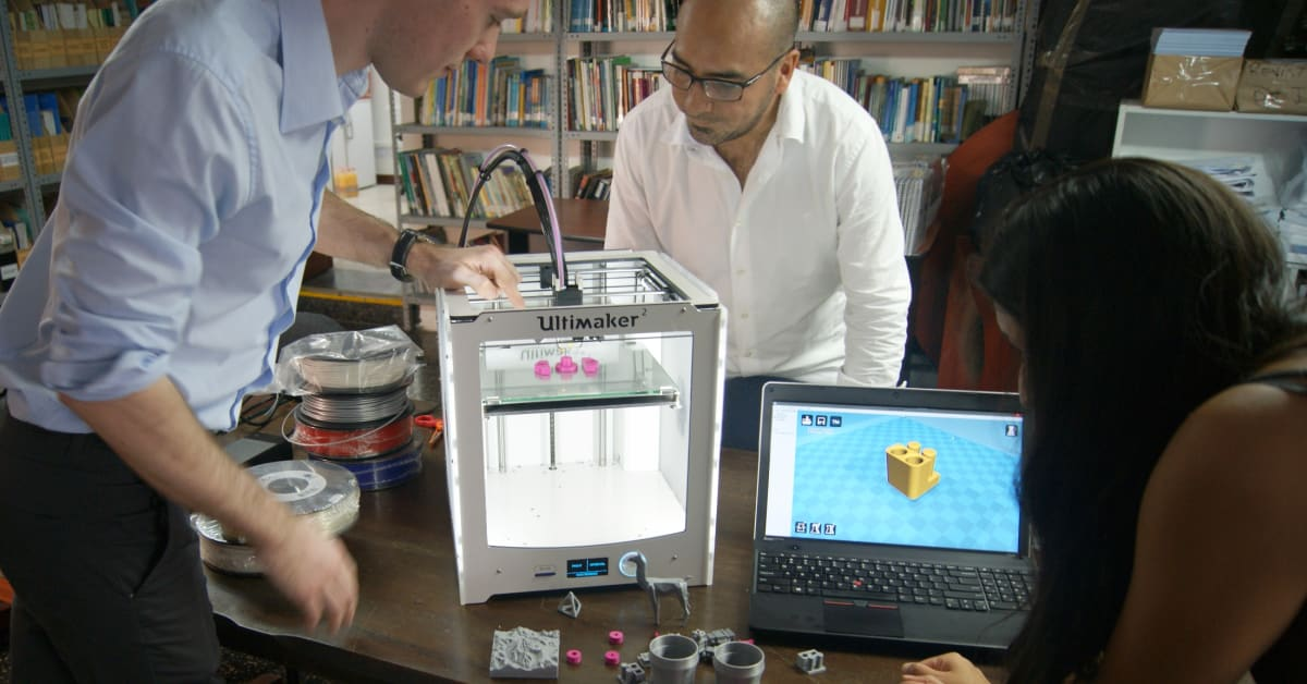 Charity and university expert develop 3d printing - De montfort university international office ...