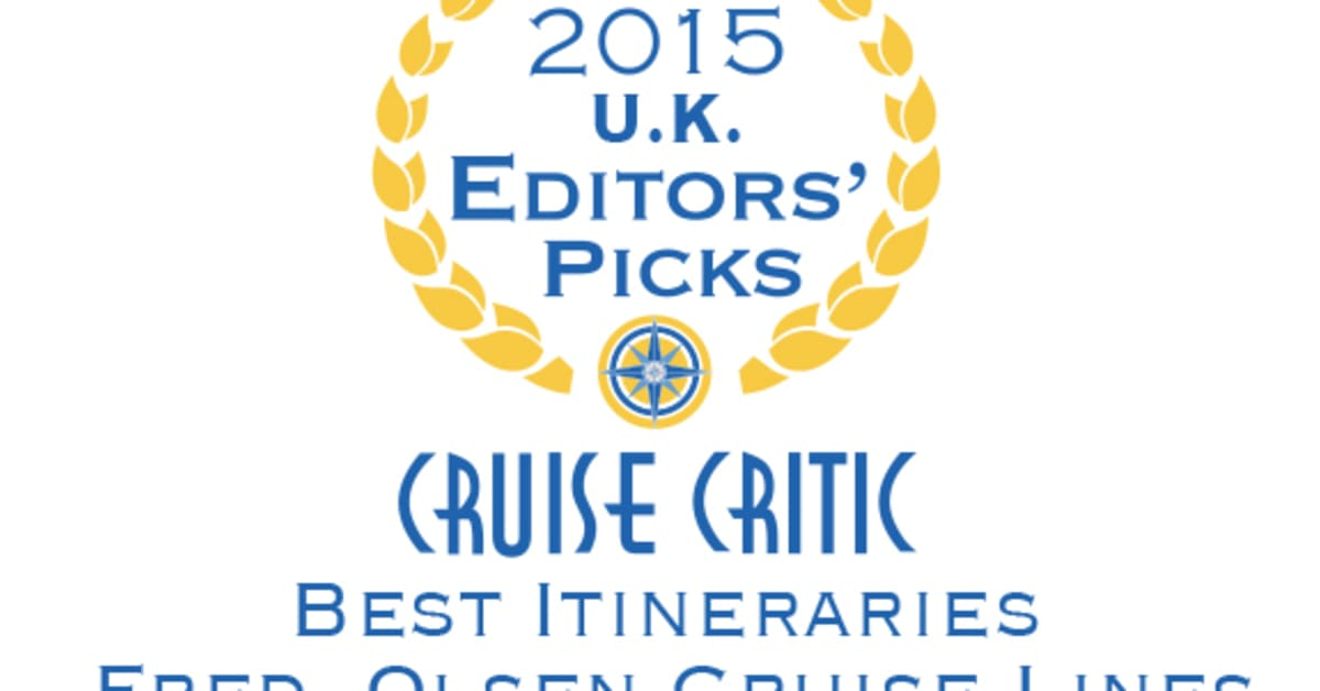 Olsen Cruise Lines Is Crowned Best For Itineraries By Fred