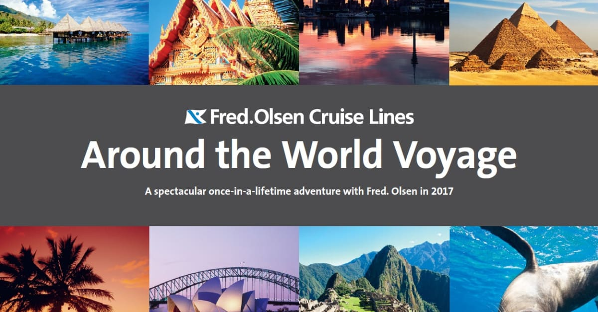 Around the world in 107 nights with fred olsen cruise for Around the world cruise