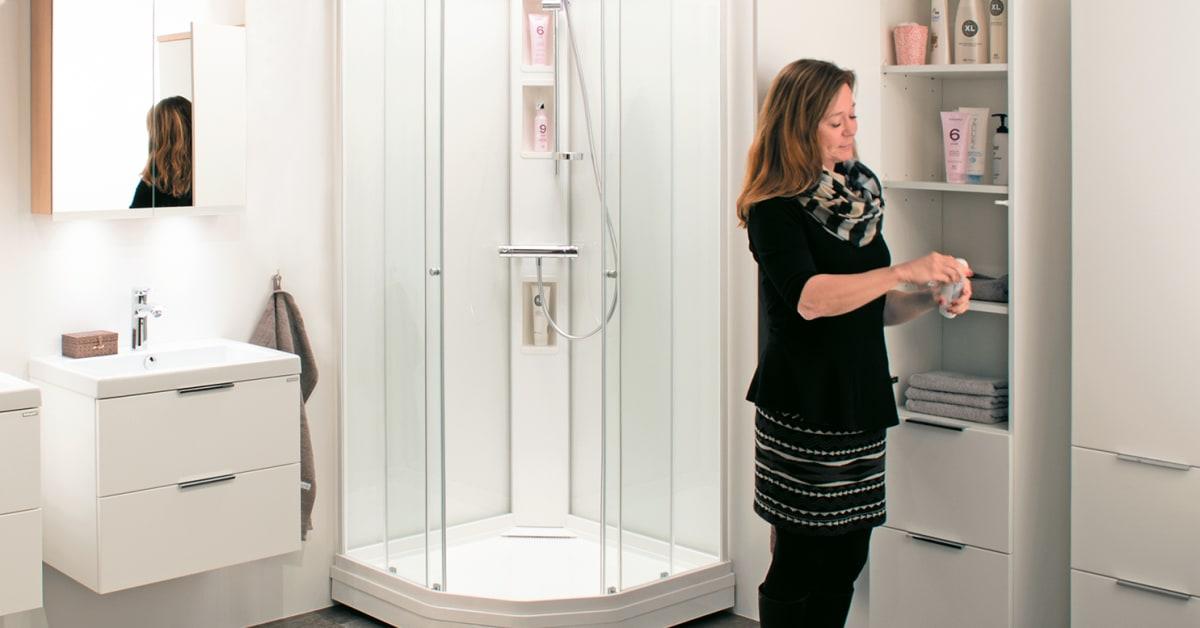 Macro lanserar nya Fjordfamiljen marknadens modernaste duschkabiner Macro Design