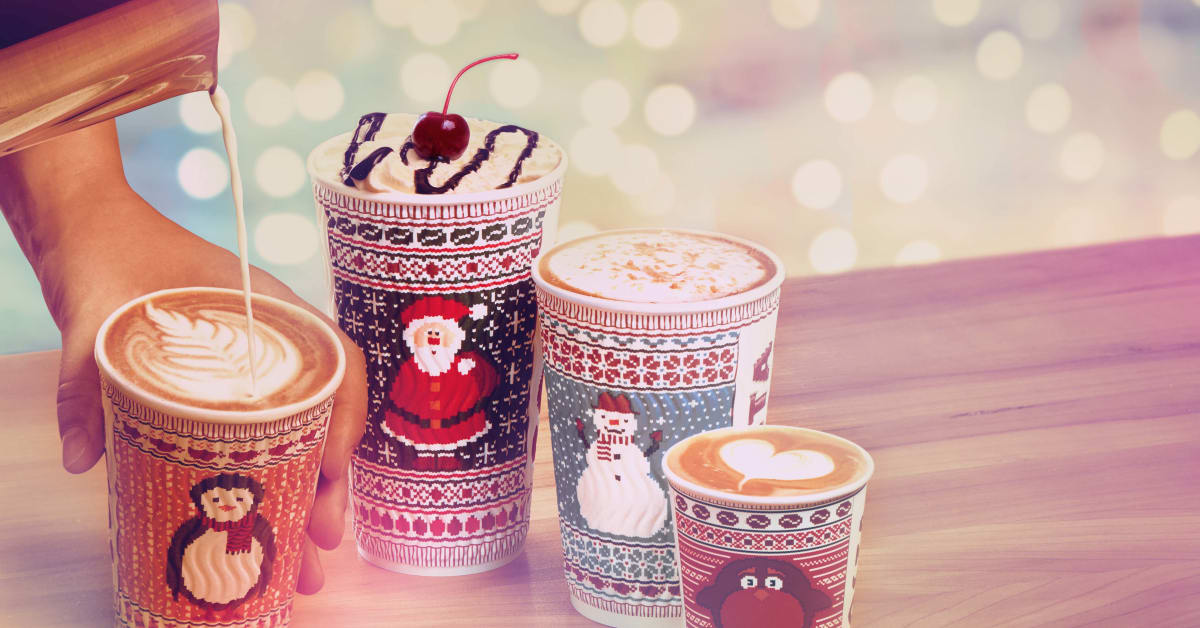 Costa Coffee Launches Mouthwatering 2016 Christmas Menu