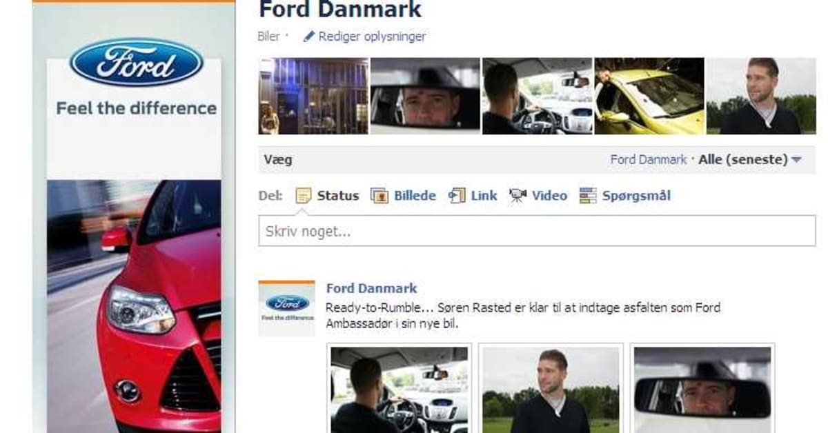 Ford danmark p facebook ford motor company Ford motor company press release