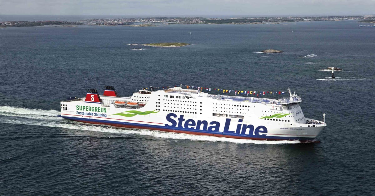 stena line launches the world s first methanol ferry stena line. Black Bedroom Furniture Sets. Home Design Ideas