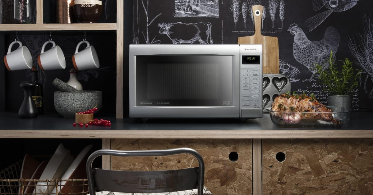 Panasonic S New Slimline Combi Microwave Ovens The Perfect Cooking Partner