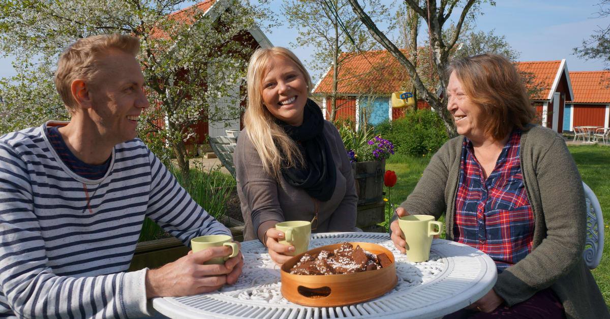mötesplatsen trädgård Trelleborg