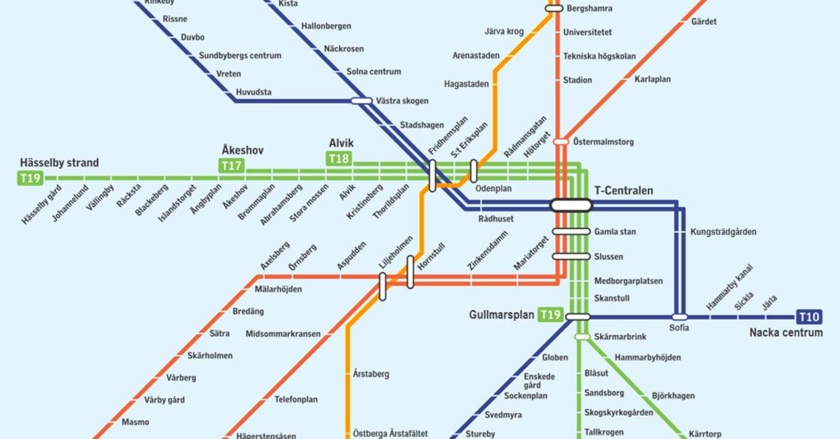 Ny tunnelbana stockholm