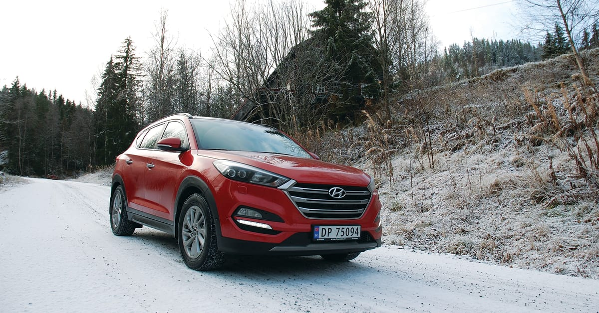 Ny Pris Til Tucson Hyundai Motor Norway