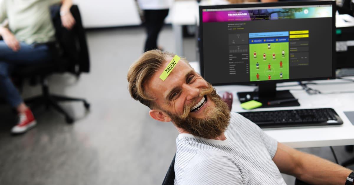 manager spil fodbold