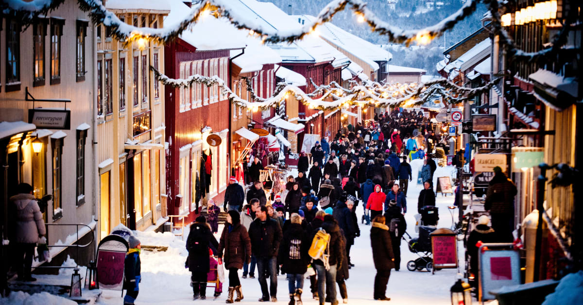 The 5 best Christmas markets in Norway - VisitNorway