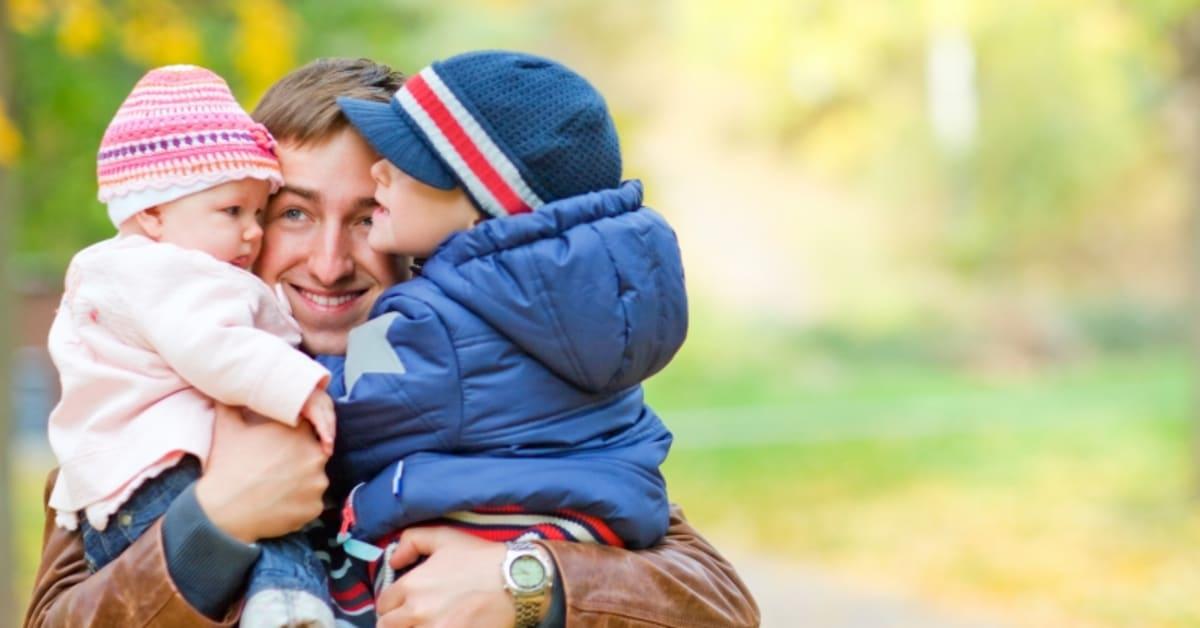 Pappans rätt till delad vårdnad
