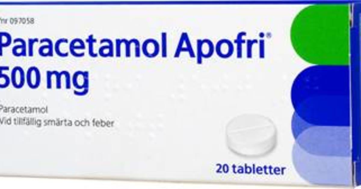paracetamol apofri 500mg