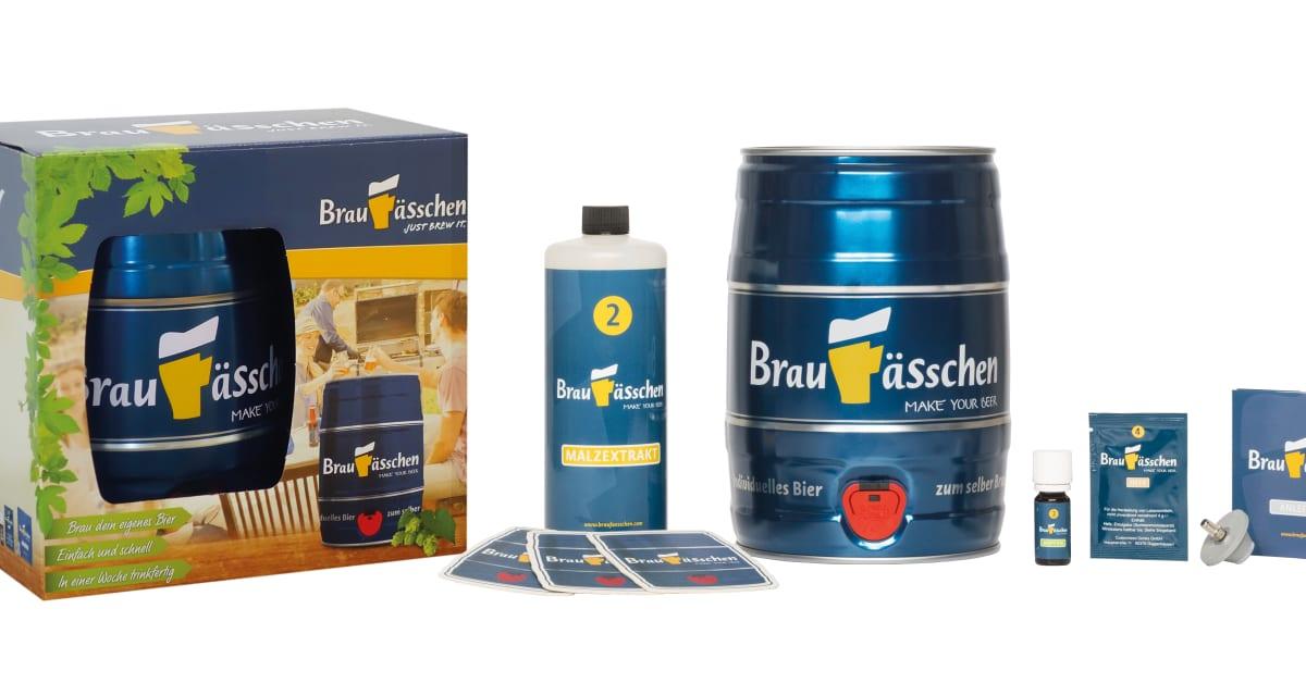 Geschenke Tipp: Bier selber Brauen! - Braufässchen
