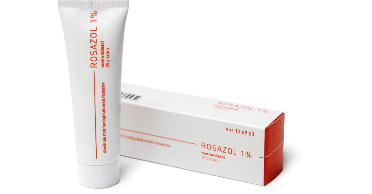 tabletter mot rosacea