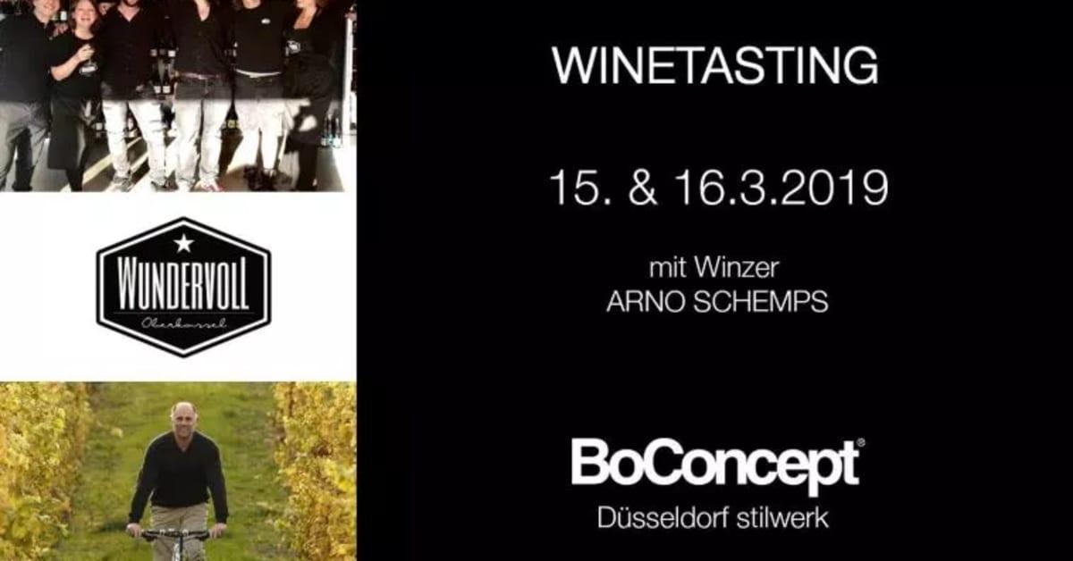 Düsseldorf Winetasting Bei Boconcept Stilwerk 153 1632019
