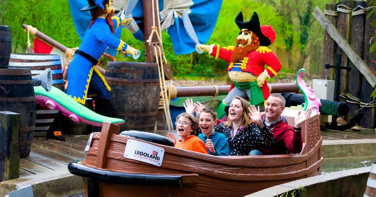Build your own family break at Legoland® Windsor Resort ...