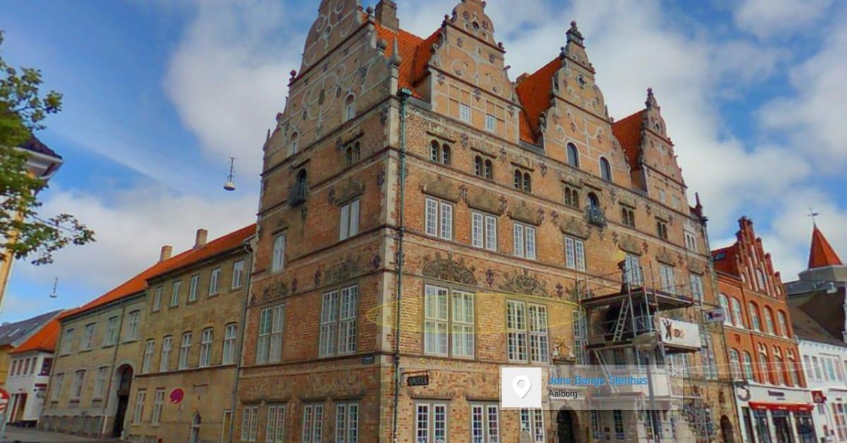 Gadefotos Af Aalborg Jens Bangs Stenhus Eniro Danmark