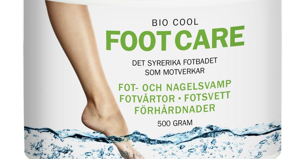 biocool footcare omdöme