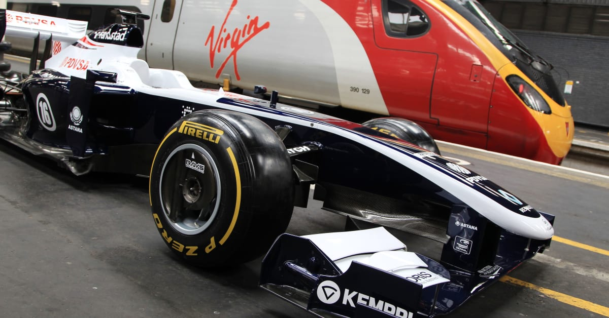 silverstone circuit partners with virgin trains to offer f1 virgin trains. Black Bedroom Furniture Sets. Home Design Ideas