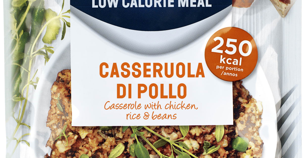 allevo low calorie meal