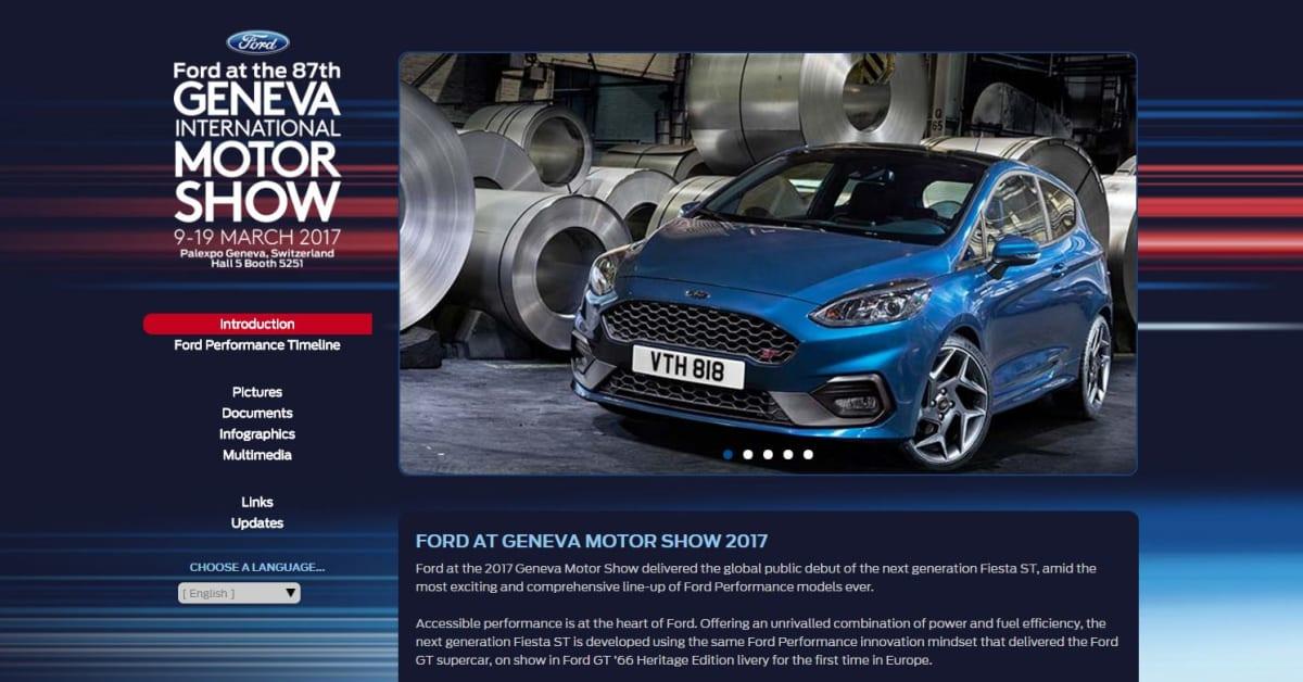 Ford Ved Geneva International Motor Show 2017 Online