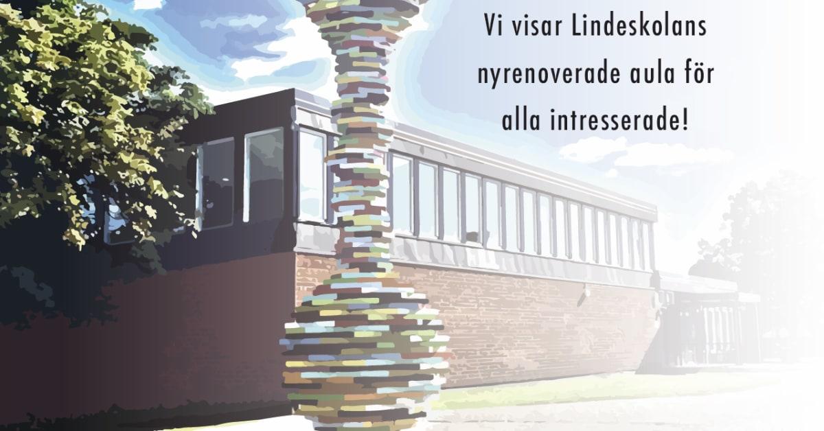 Lindeskolans aula byggs om - men möjligheten till större ...