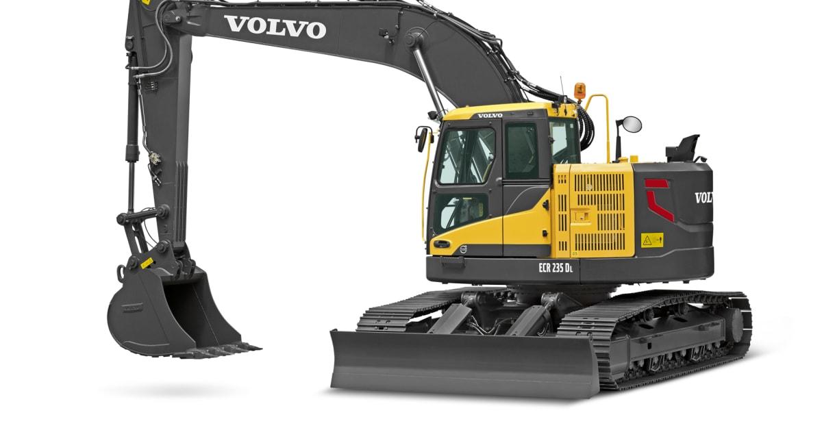 Gr 228 Vmaskiner Volvo Ecr145d Ecr235d Bild 2 Swecon