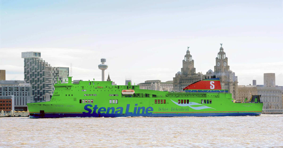 Ferry To Ireland From Holyhead >> Ferry Green Giant - Stena Line