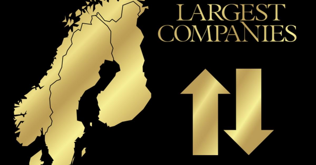 sveriges största bolag omsättning