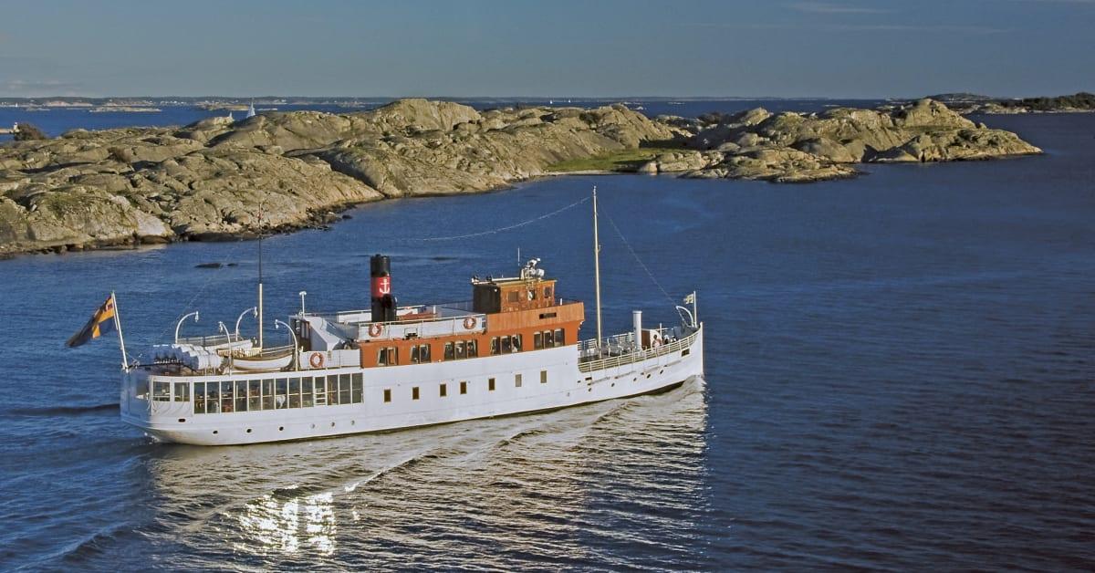 båt till marstrand från göteborg