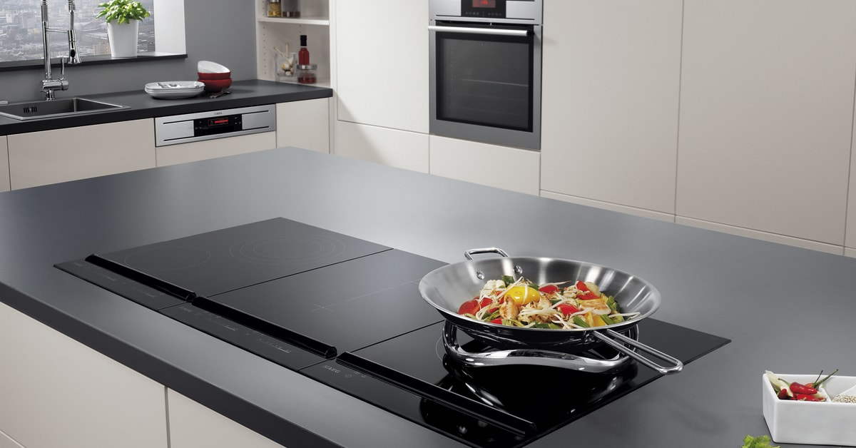 aeg fusion induction wok the must have accessory for a. Black Bedroom Furniture Sets. Home Design Ideas