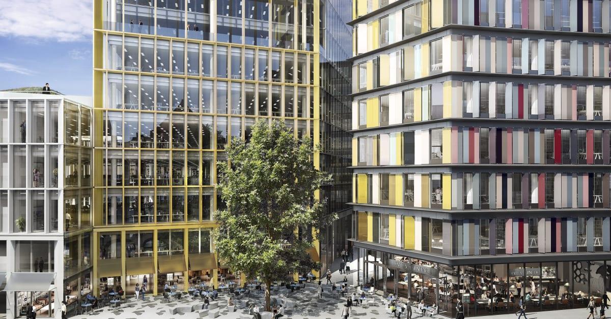 skanska f r design och byggkontrakt i london f r cirka 1 1 skanska ab. Black Bedroom Furniture Sets. Home Design Ideas