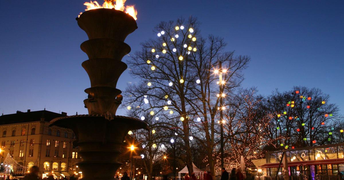 Jul i Malmö city Malmö stad