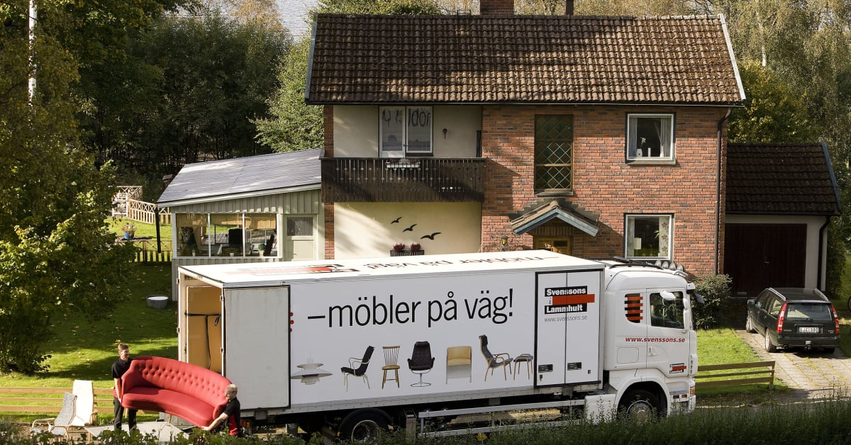 Svenssons I Lammhult Flyttar Centrallager Svenssons I Lammhult