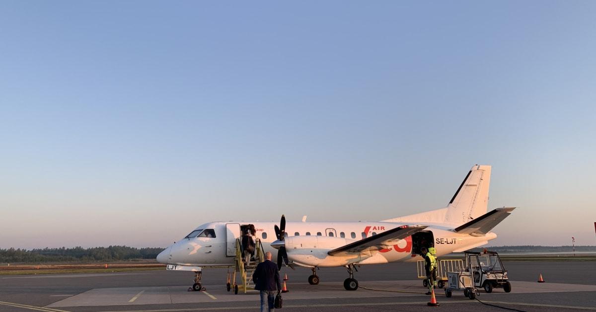 Air Leap tvingas pausa flyglinjen Jönköping - Arlanda
