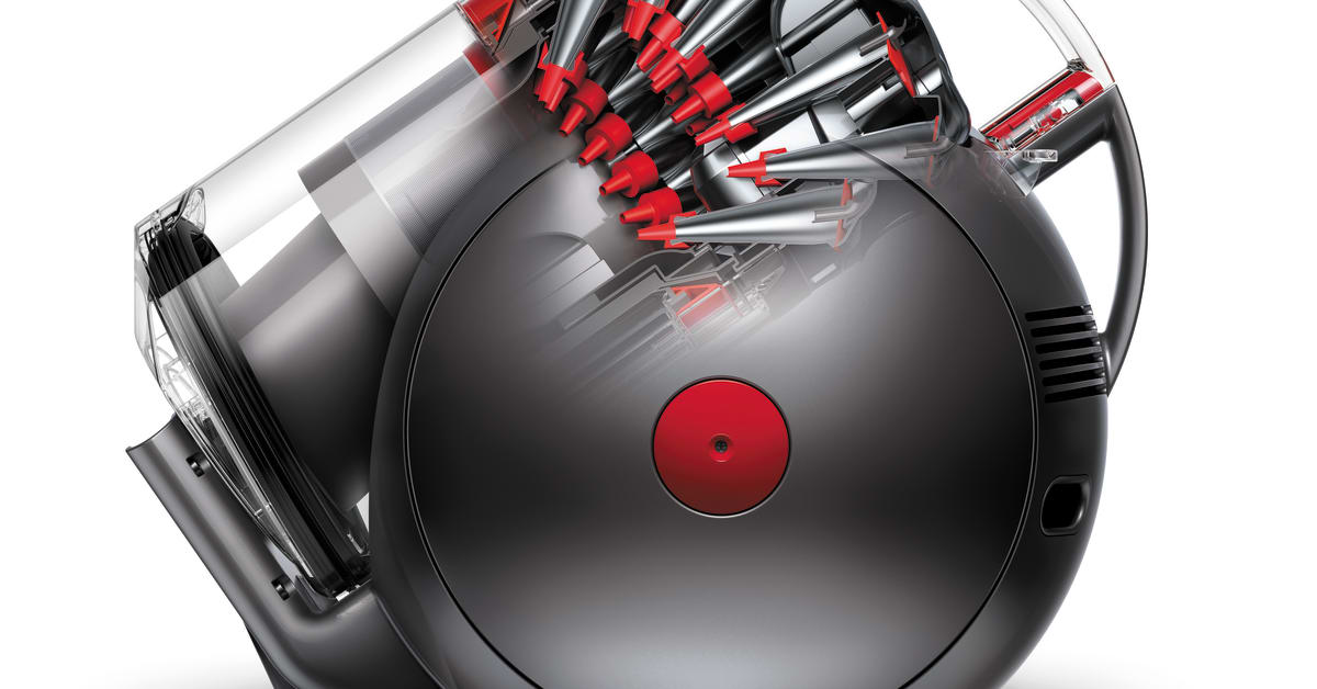 dyson big ball dyson stellt den staubsauger auf den kopf dyson. Black Bedroom Furniture Sets. Home Design Ideas