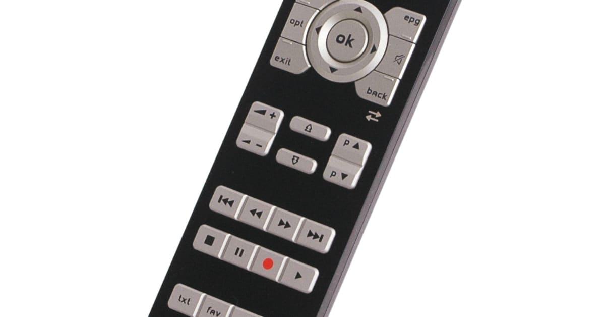 fjärrkontroll till telias digitalbox