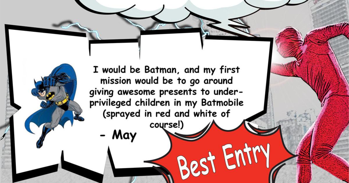 if i were a superman essay