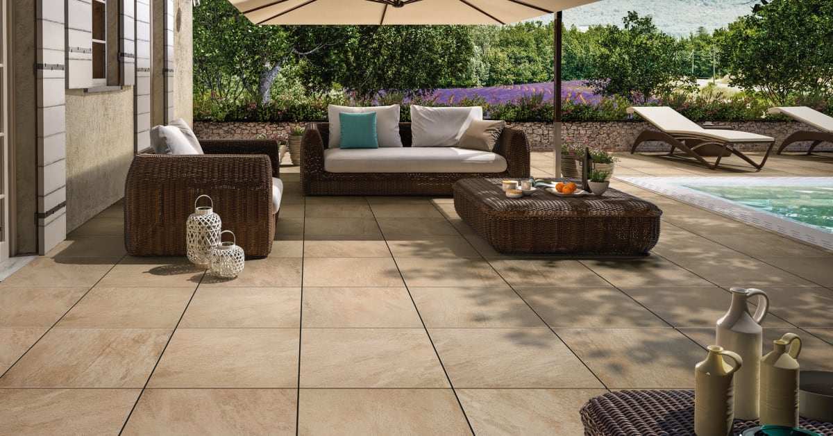 Outdoor Tiles Harmony Indoors And Out Villeroy Amp Boch