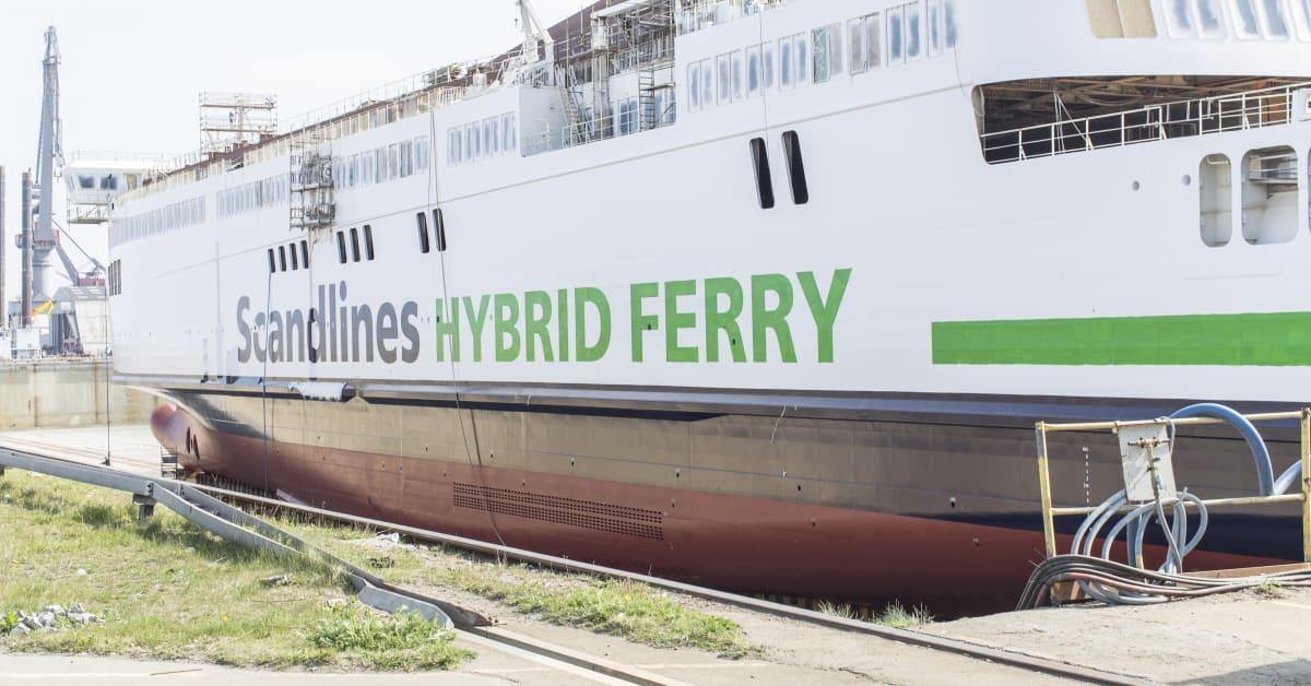 Hybrid Fähre Scandlines
