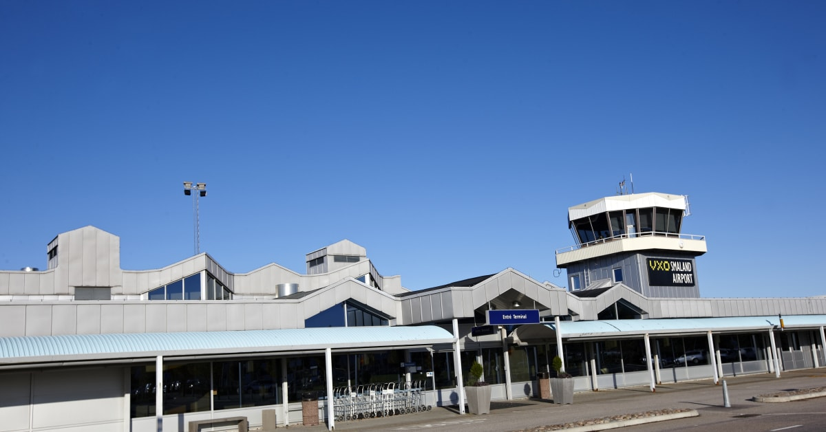 växjö flygplats