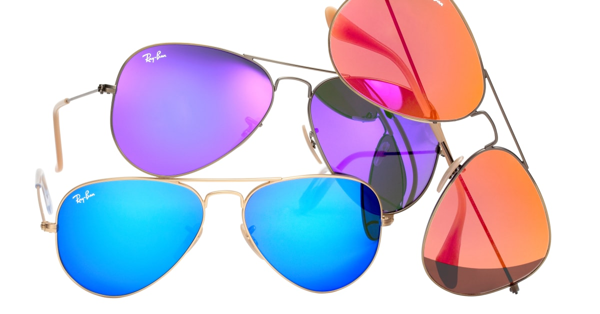 ray ban aviator brilleland
