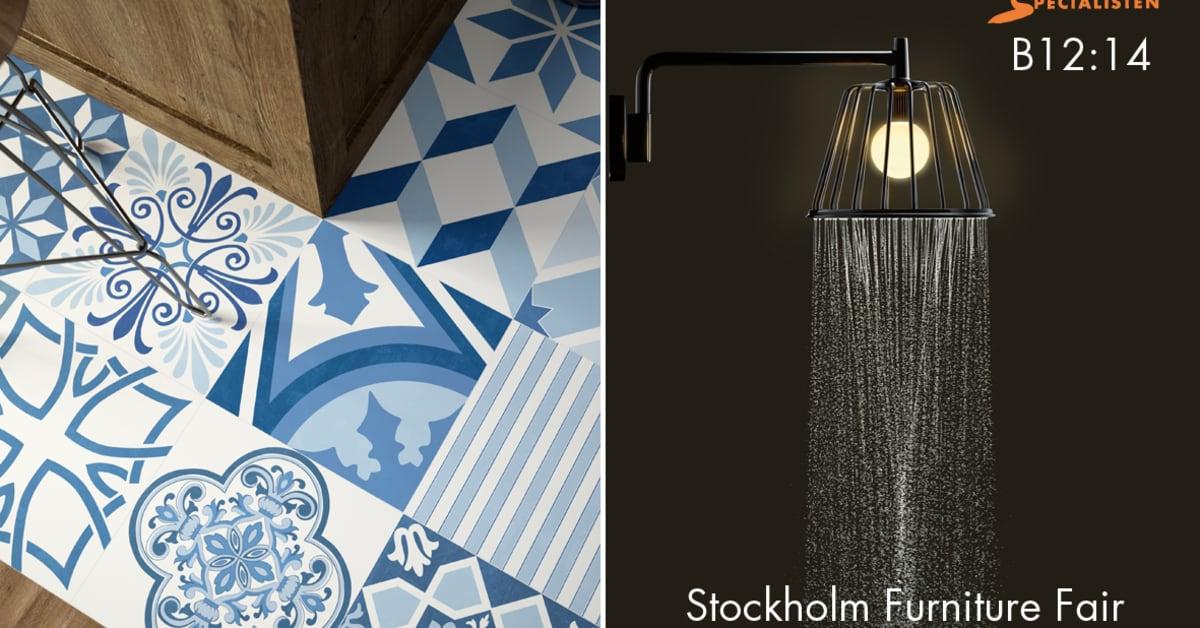 Kakel   mönster på stockholm furniture fair   kakelspecialisten i ...