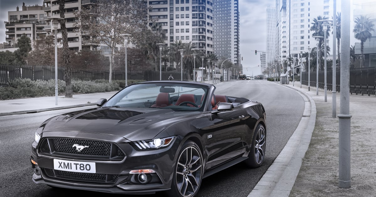 Nya Ford Mustang Bild8 Ford Motor Company Ab