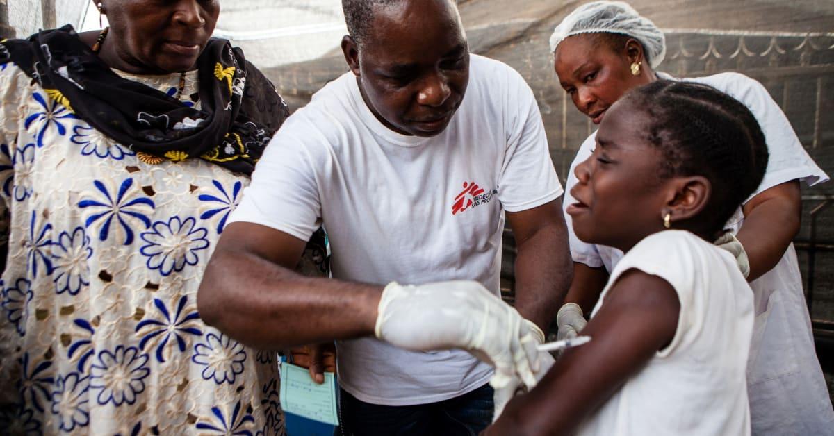 Mässling: Läkare Utan Gränser Vaccinerar En Miljon Barn Mot Mässling