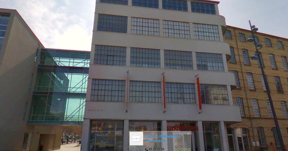 Gadefotos Af Odense Brandts Klaedefabrik Eniro Danmark