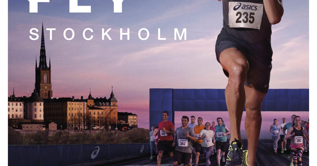 ASICS kampanj Don't run, fly inspirerar löpare att få upp